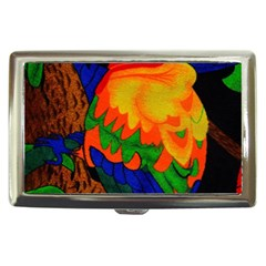 Parakeet Colorful Bird Animal Cigarette Money Cases