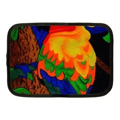 Parakeet Colorful Bird Animal Netbook Case (medium)