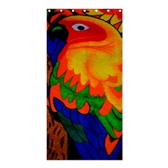 Parakeet Colorful Bird Animal Shower Curtain 36  x 72  (Stall)