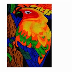 Parakeet Colorful Bird Animal Large Garden Flag (two Sides)