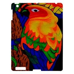 Parakeet Colorful Bird Animal Apple Ipad 3/4 Hardshell Case