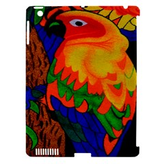 Parakeet Colorful Bird Animal Apple iPad 3/4 Hardshell Case (Compatible with Smart Cover)