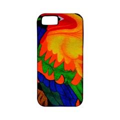 Parakeet Colorful Bird Animal Apple Iphone 5 Classic Hardshell Case (pc+silicone)