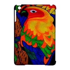 Parakeet Colorful Bird Animal Apple iPad Mini Hardshell Case (Compatible with Smart Cover)