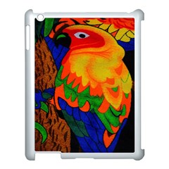Parakeet Colorful Bird Animal Apple Ipad 3/4 Case (white)