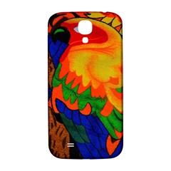 Parakeet Colorful Bird Animal Samsung Galaxy S4 I9500/i9505  Hardshell Back Case