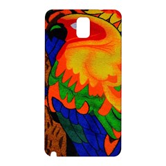 Parakeet Colorful Bird Animal Samsung Galaxy Note 3 N9005 Hardshell Back Case