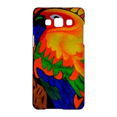 Parakeet Colorful Bird Animal Samsung Galaxy A5 Hardshell Case