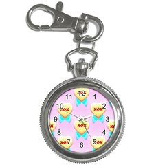 Pastel Heart Key Chain Watches