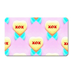 Pastel Heart Magnet (rectangular)
