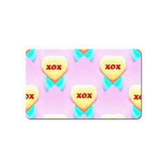 Pastel Heart Magnet (Name Card)