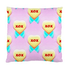 Pastel Heart Standard Cushion Case (Two Sides)