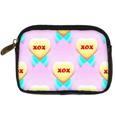 Pastel Heart Digital Camera Cases