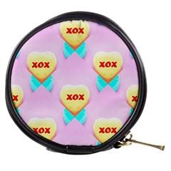 Pastel Heart Mini Makeup Bags