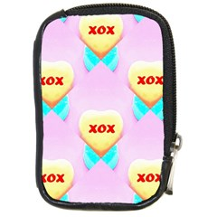Pastel Heart Compact Camera Cases