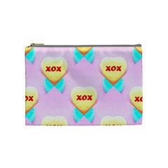 Pastel Heart Cosmetic Bag (Medium)