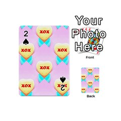 Pastel Heart Playing Cards 54 (Mini)