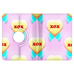 Pastel Heart Kindle Fire Hdx Flip 360 Case
