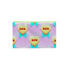 Pastel Heart Cosmetic Bag (XS)