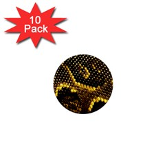 Pattern Skins Snakes 1  Mini Magnet (10 pack)