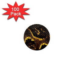Pattern Skins Snakes 1  Mini Buttons (100 Pack)