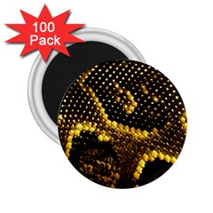 Pattern Skins Snakes 2 25  Magnets (100 Pack)