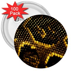 Pattern Skins Snakes 3  Buttons (100 Pack)