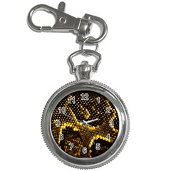 Pattern Skins Snakes Key Chain Watches