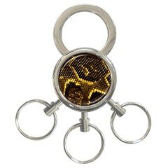 Pattern Skins Snakes 3-Ring Key Chains