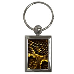 Pattern Skins Snakes Key Chains (Rectangle)