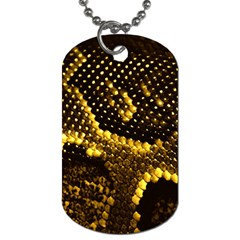 Pattern Skins Snakes Dog Tag (two Sides)