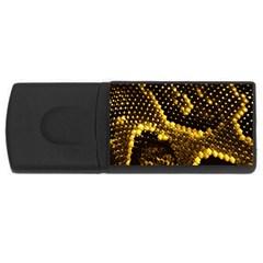 Pattern Skins Snakes USB Flash Drive Rectangular (2 GB)