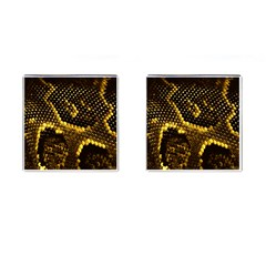 Pattern Skins Snakes Cufflinks (Square)