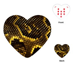 Pattern Skins Snakes Playing Cards (Heart)