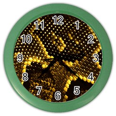 Pattern Skins Snakes Color Wall Clocks