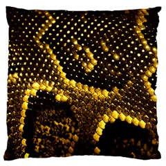 Pattern Skins Snakes Large Cushion Case (Two Sides)