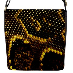 Pattern Skins Snakes Flap Messenger Bag (S)