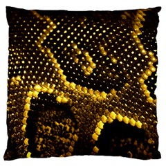 Pattern Skins Snakes Standard Flano Cushion Case (two Sides)