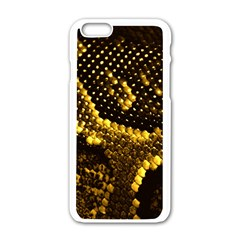Pattern Skins Snakes Apple Iphone 6/6s White Enamel Case