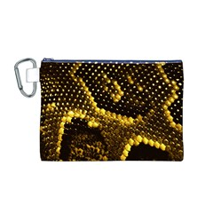 Pattern Skins Snakes Canvas Cosmetic Bag (M)