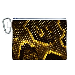 Pattern Skins Snakes Canvas Cosmetic Bag (L)