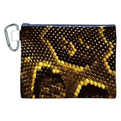 Pattern Skins Snakes Canvas Cosmetic Bag (XXL)