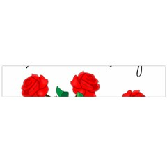 Valentine s Day Gift Flano Scarf (large)
