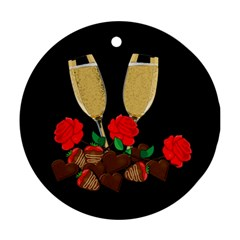 Valentine s day design Ornament (Round)