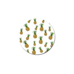 Pineapples pattern Golf Ball Marker