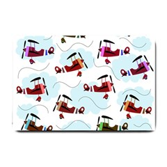 Airplanes pattern Small Doormat