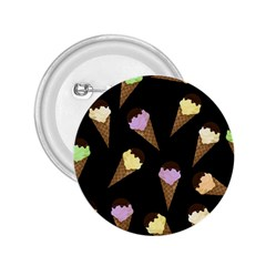 Ice cream cute pattern 2.25  Buttons