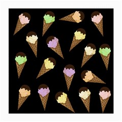 Ice cream cute pattern Medium Glasses Cloth (2-Side)