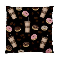 Coffee break Standard Cushion Case (One Side)