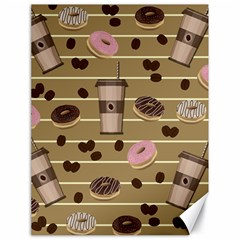 Coffee and donuts  Canvas 18  x 24
